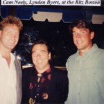 Cam Neely and Mike Ruggelo