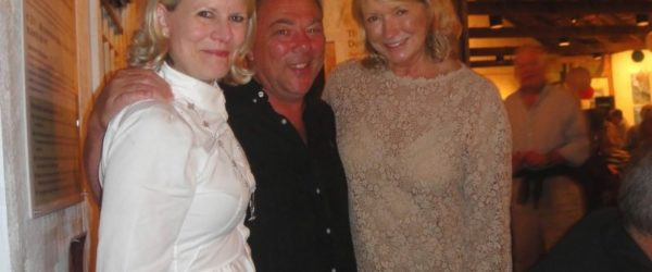 One of the many times in Bar Harbor with Martha Stewart